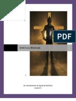Spiritual Warfare- Lesson 5