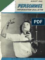 All Hands Naval Bulletin - Aug 1943