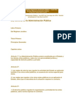 Libro 1 de La Ley General de Admns Publica