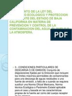 to de La Ley Del Equilibrio Ecologico y