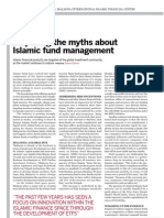 Dispelling Myth of Islamic Fund Management
