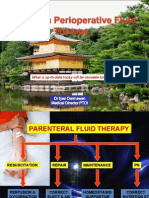 Update on Perioperative Fluid Therapy
