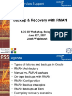 Backup Recovery With RMAN