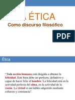La Etica Como Disciplina Filosofica