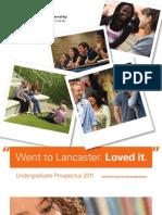 ugprospectus2011 Lancaster