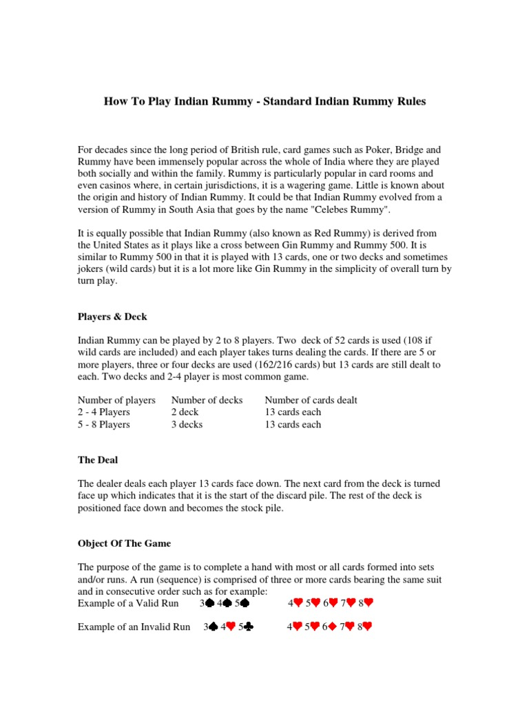 Gin Rummy Wild Card Rules Lettercards