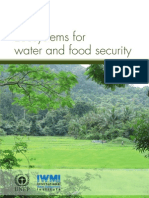Ecosystems for Water and Food Security
