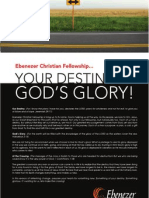 Your Destiny. God's Glory