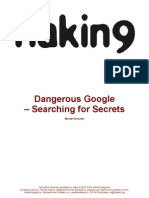 Hacking 9 -Dangerous Google - Searching for Secrets