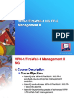Checkpoint VPN-1 FireWall-1 NG Management II Instructors Slides