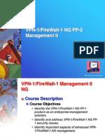 Checkpoint VPN-1 FireWall-1 NG Management II Instructors Slides