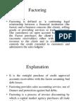 Factoring vs Forfeiting