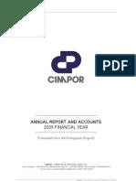 Cimpor 2009 Annual Report