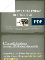 BIBLE BEFORE SCIENCE