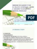 J Pradeep Chaitanya - Urban Corridor Management for Heterogenous Traffic Conditions [Compatibility Mode]