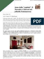 """Collezionare lontano dalla """"capitale"""". Il caso di palazzo Descalzi a Chiavari nel Settecento, di Raffaella Fontanarossa - [Altritaliani"""