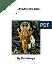 Dattareya, Avadhuta Gita trans by Hari Prasad