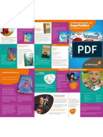 Programma Kinderboekenweek 2011 - Folder Bibliotheek Vlissingen
