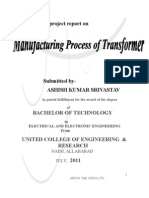 A Project Report on Transformer