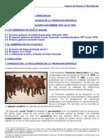 TEMA 17 HISTORIA DE ESPAÑA TRANSICION