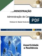 Administração de Carreiras_Assertividade e resiliência