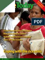 Rice Today Magazine (Volume 7, no. 3)