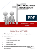 Legal Protection of Nursing Service