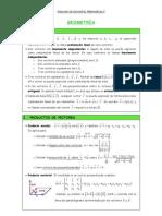 Resumen de Geometria MATII
