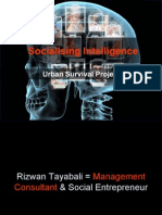 Socialising Intelligence - Urban Survival Project