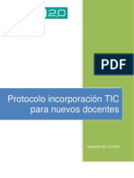 Protocolo de incorporación nuevos docentes IES Escuela 2.0