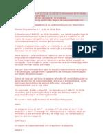 Seguro projecto - Decreto Regulamentar nº 11