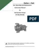 Et Pn Iso Pump Instruction Manual-Org