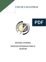 El Desván de las Letras, programa de servicios (Actualizado 2011)