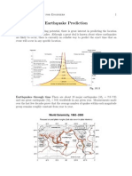 L14 Earthquake Prediction