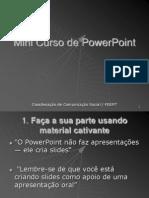 Mini Curso de Power Point