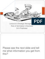 Lecture 2 Strategic Management