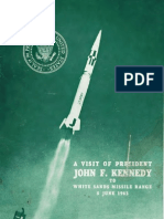 A Visit of President John F. Kennedy to White Sands Missile Range