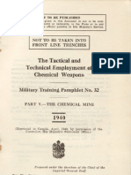 PART V - THE CHEMICAL MINE - MILITARY TRAINING PAMPHLET No. 32  1940