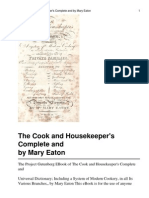 30181185 the Cook and Housekeeper s Complete and Universal Dictionary