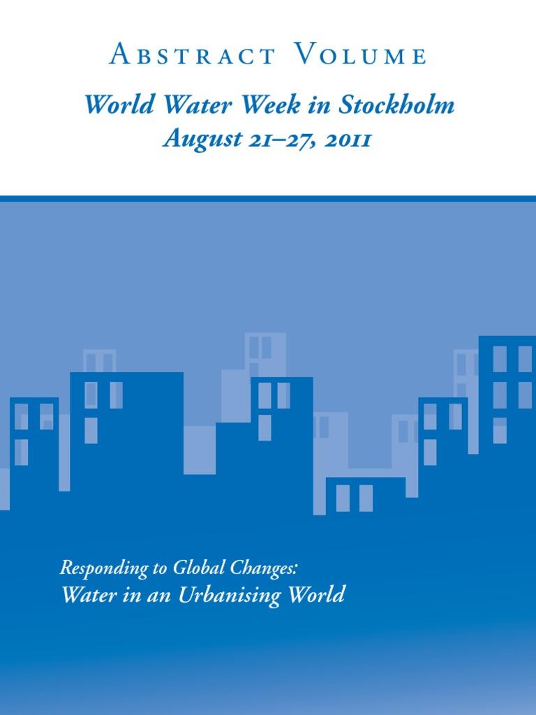 Water In An Urban Is Ing World Week Stockholm 21 27 Relay Hbridge Motor Controller Francesco Amirante August 2011 Resources Beach
