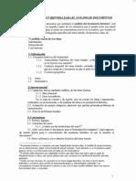 HEA Metodología análisis documentos
