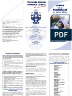 Career as a Pharmacist in South Africa