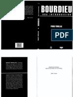 Tovillas - Bourdieu. Una introducción