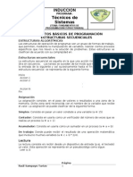 04. Conceptos Basicos de Programacion - Estructuras Secuenciales