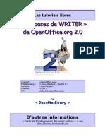 Tutoriels Writer Bases Ooo2