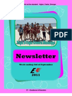 Newsletter Week 12 2011