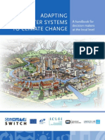 Adapting Urban Water Systems to Climate Change - a Handbook for Decision Makers at the Local Level