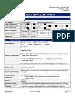 Product-Service Description Template v0.4