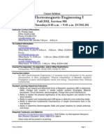 UT Dallas Syllabus for ee4301.001.11f taught by Ricardo Saad (rsaad)