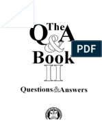 The Questions & Answers Book II